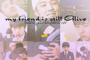 ترجمة الحلقة الخاصة الكورية My Friend is Still Alive ~